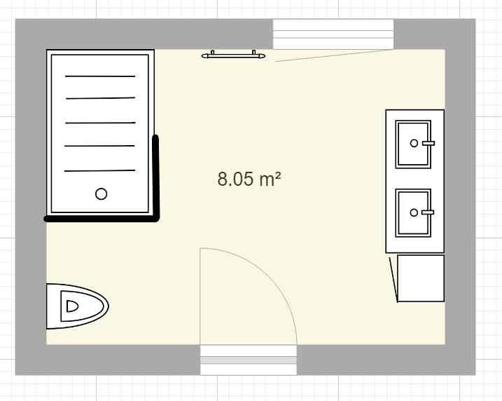 Plan salle de bain enfants - v2