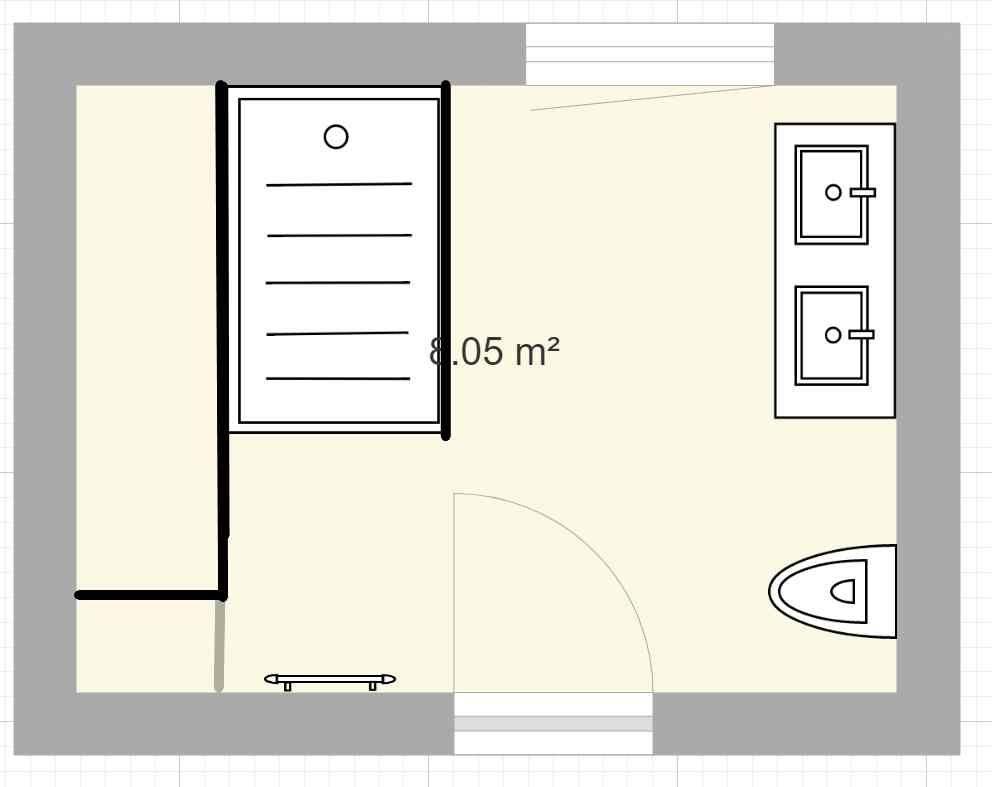 Plan Salle de bain enfants - v4