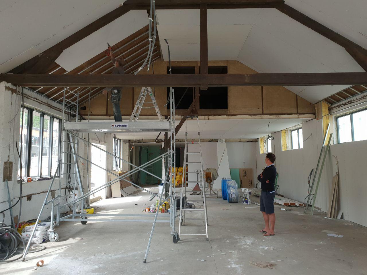 doublage plafond séjour