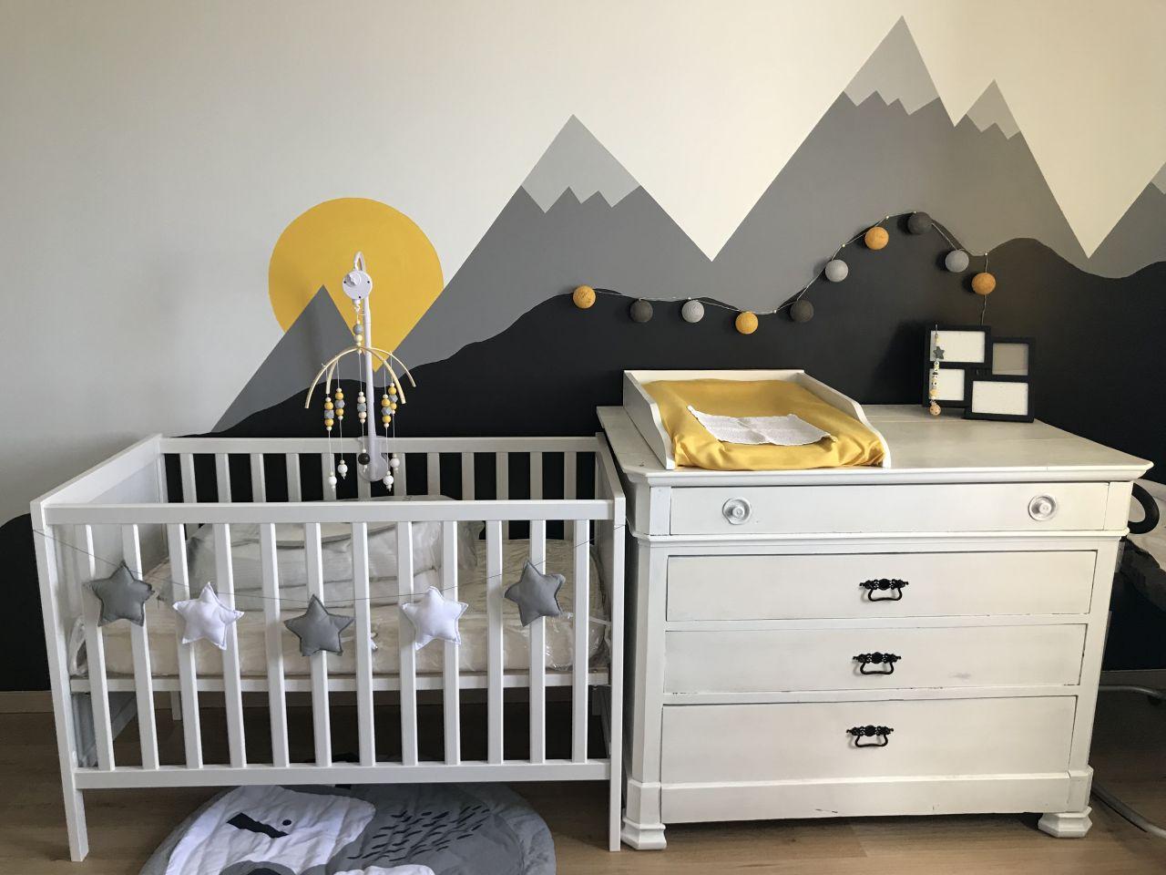 Chambre bébé finie !