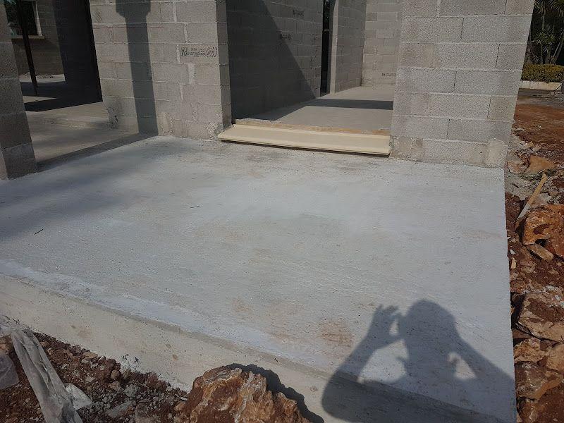 Terrasse ajouté de 3 mètres devant chambre parentale