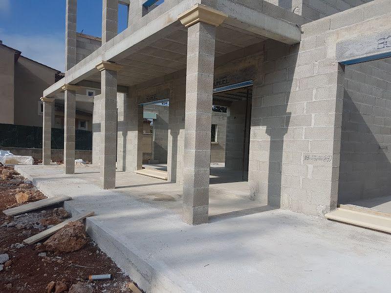 Terrasse ajouté de 1 mètre en longueur de la terrasse existante de 2 mètres