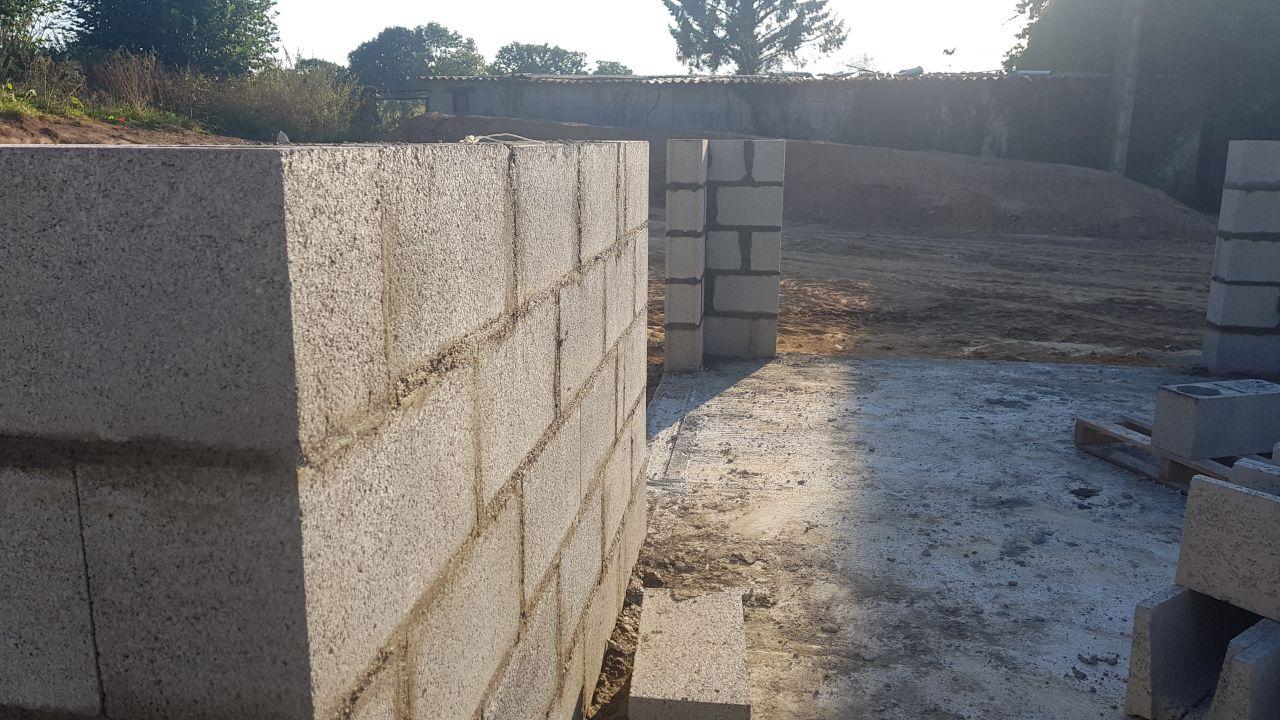 élévation des murs 13 septembre 2018
