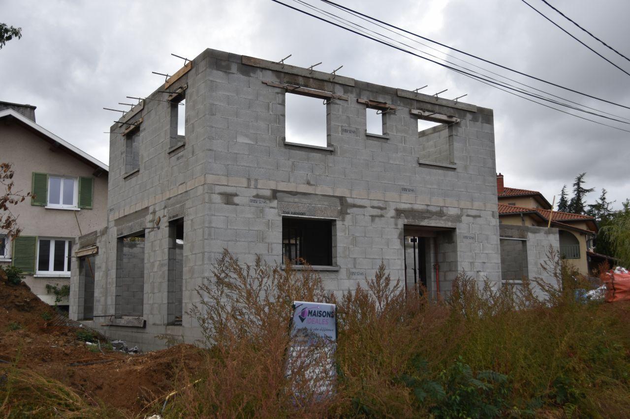 Élévation Étage - Façade Sud-est
