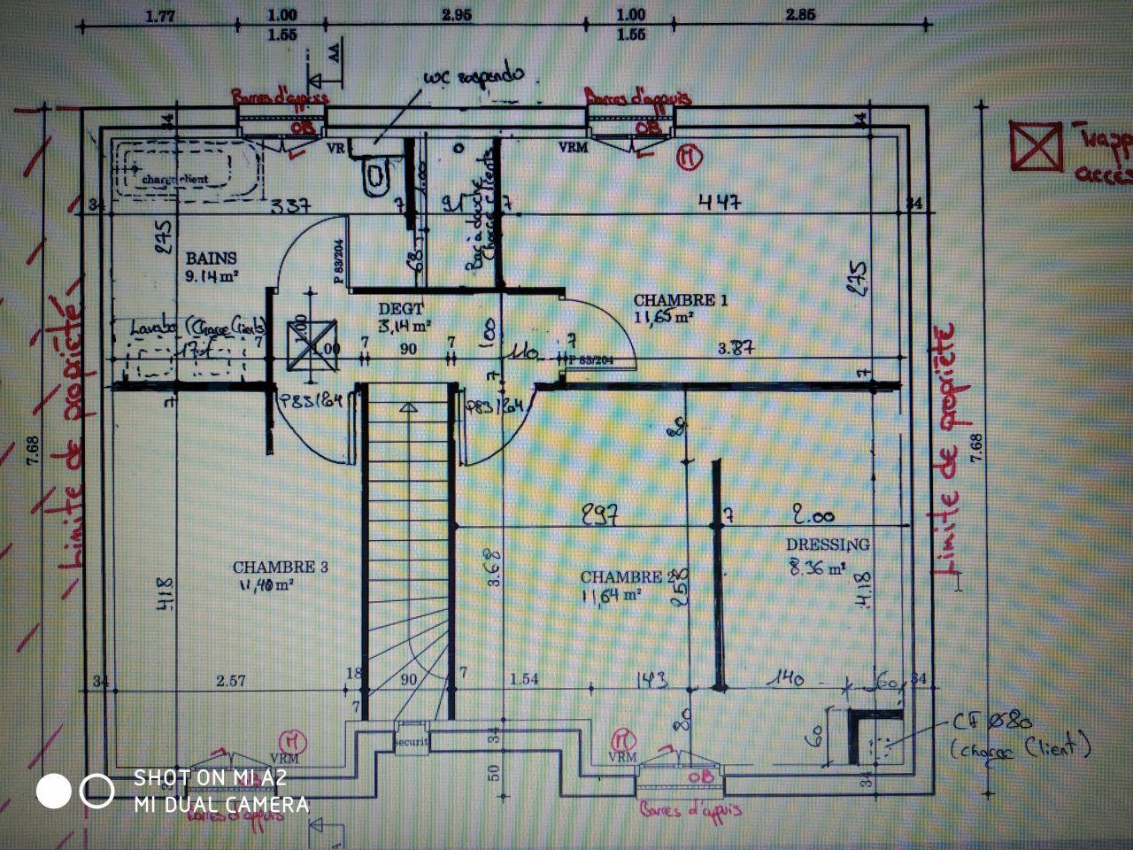 plan R+1 suite à MAP