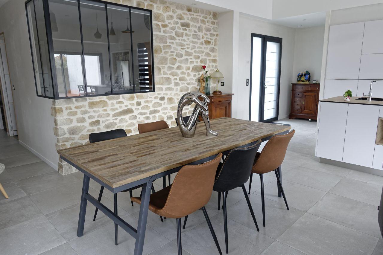 Nouvelle table et chaises