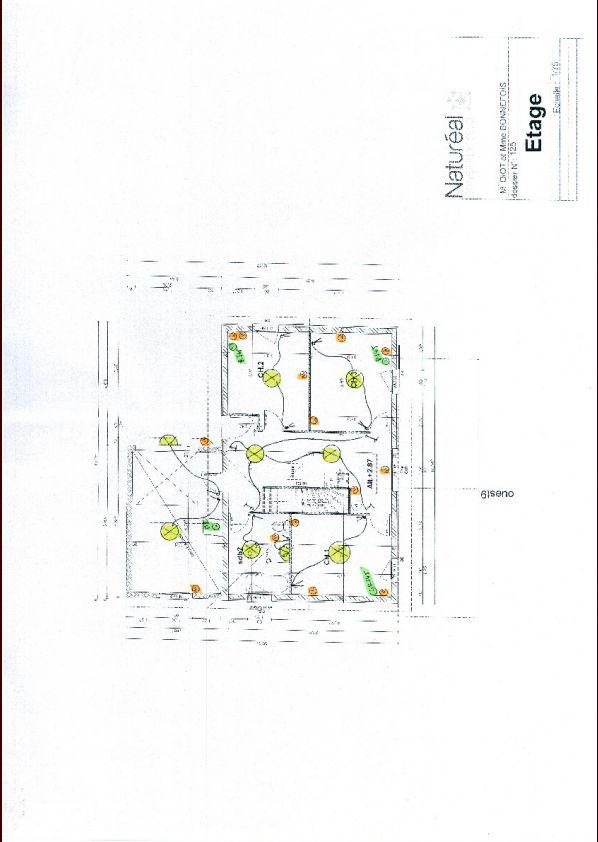 plan éléctricité étage