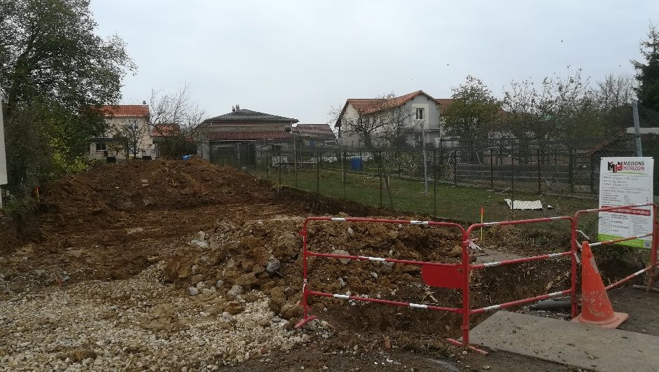 Terrassement et viabilisation eau/ assainissement