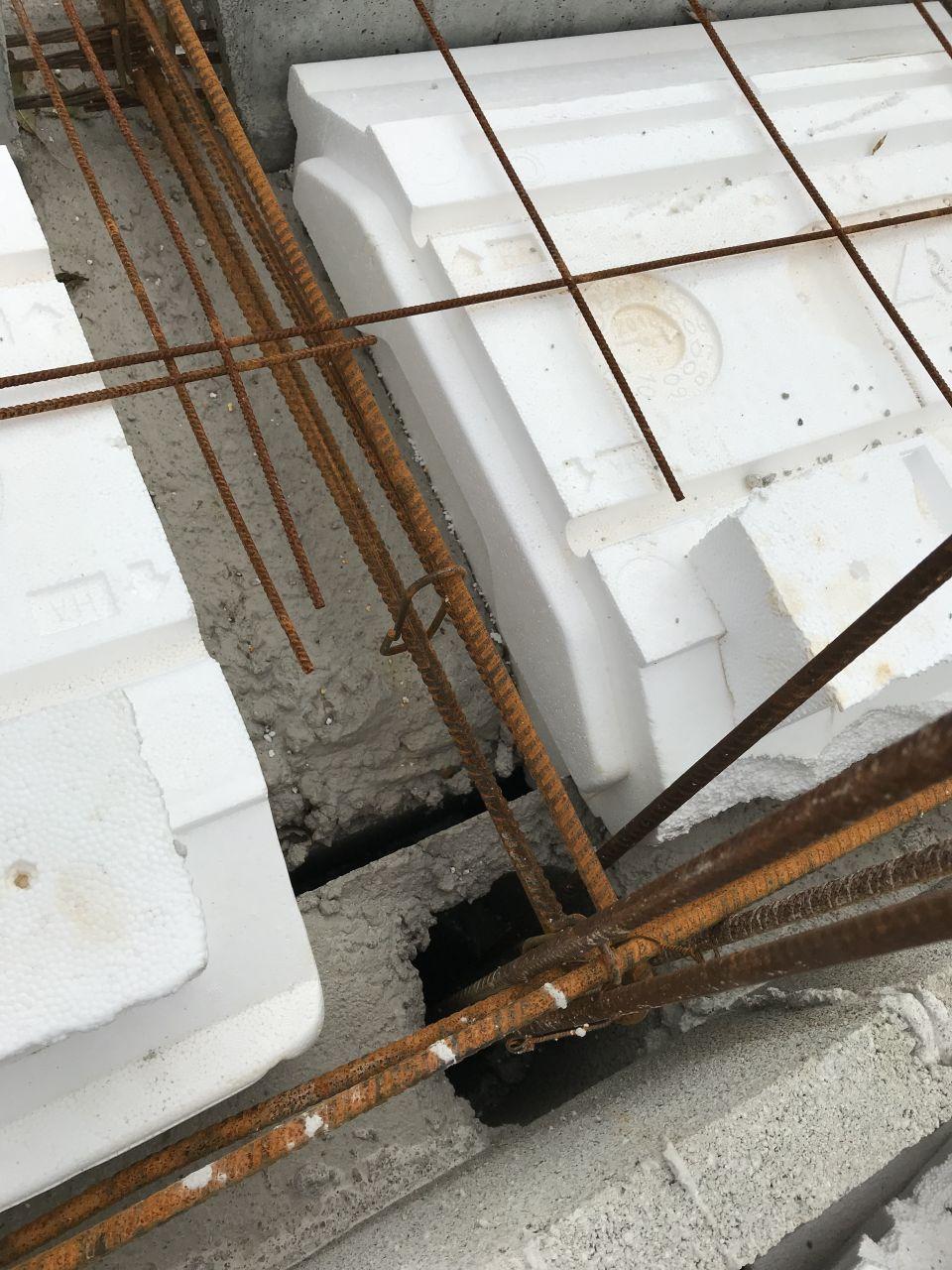 liaison chaînage horizontal et vertical mur de refend et mur exterieur