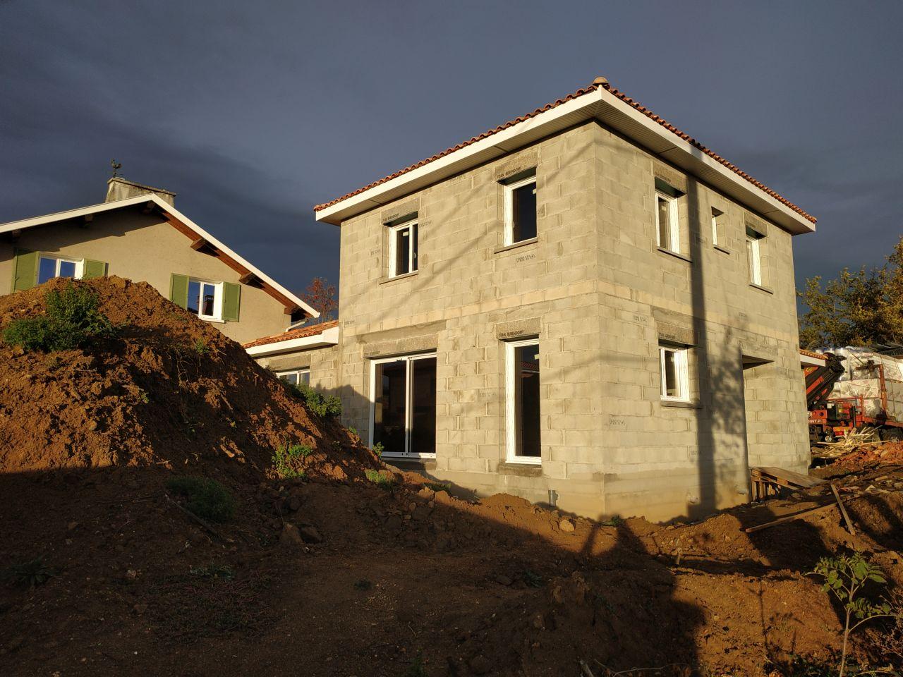 Menuiseries façade Sud et Est