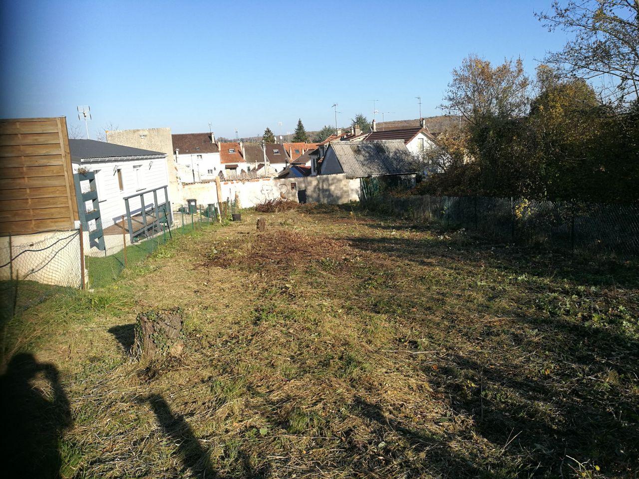 Déboisage et débroussaillage du terrain, nettoyage et enlèvement des déchets verts
