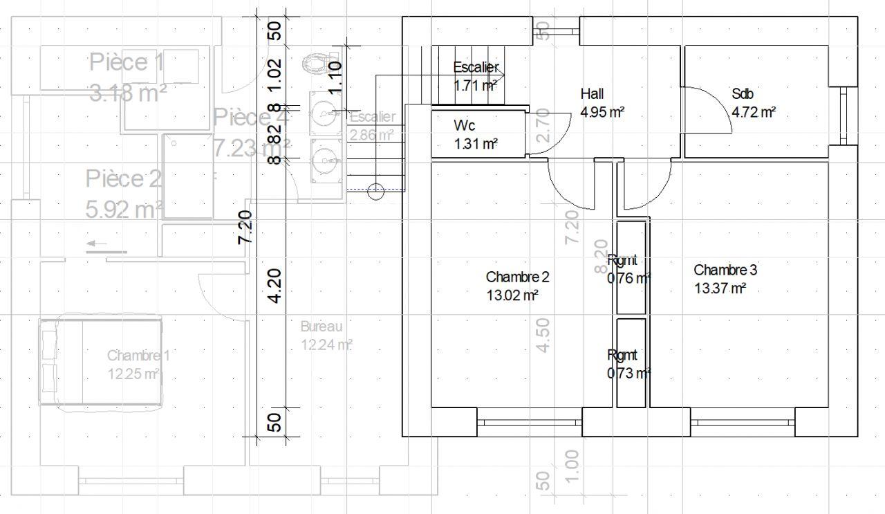 Plans etages