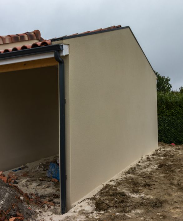 PB toiture mur mitoyen