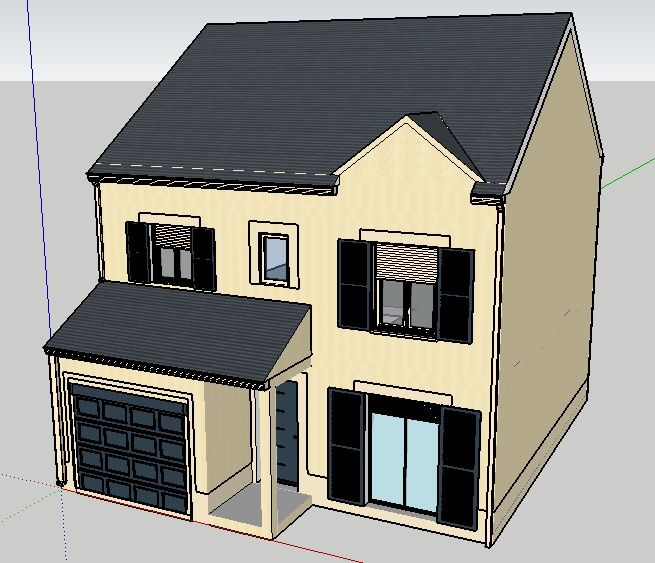 maison (sketchup / version 0)