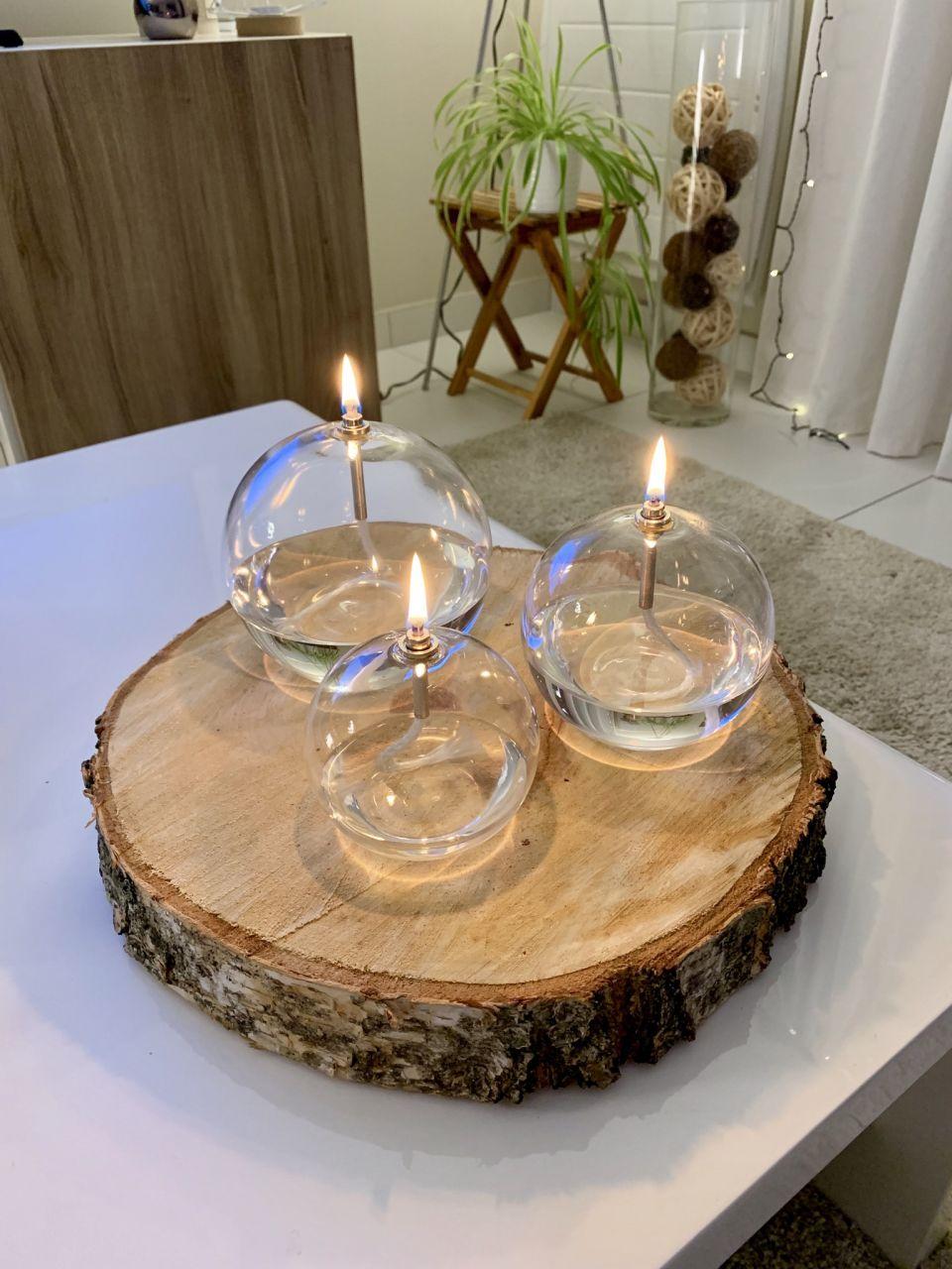 Lampes a huile (Merci Orchidee je ne connaissais pas et je suis fan)