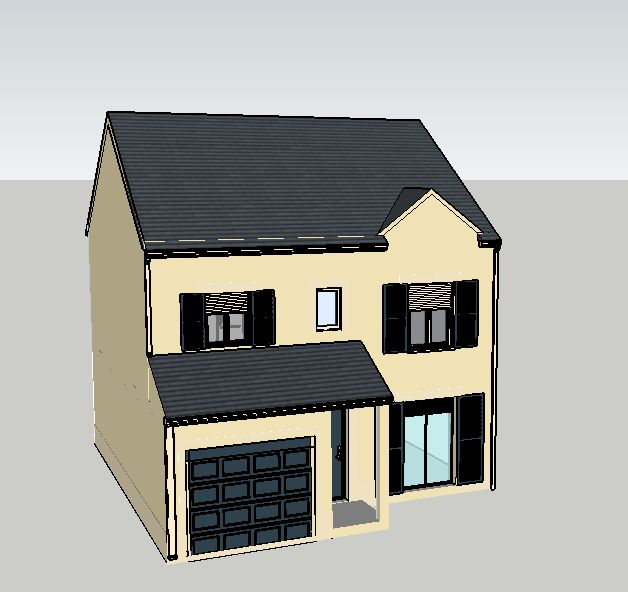 visuel maison (sketchup ; version 1)