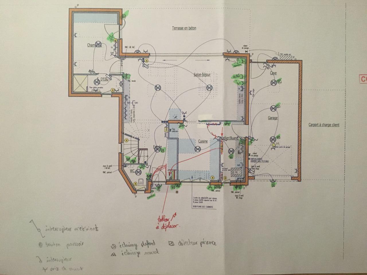 Plan électrique rdc - version 1