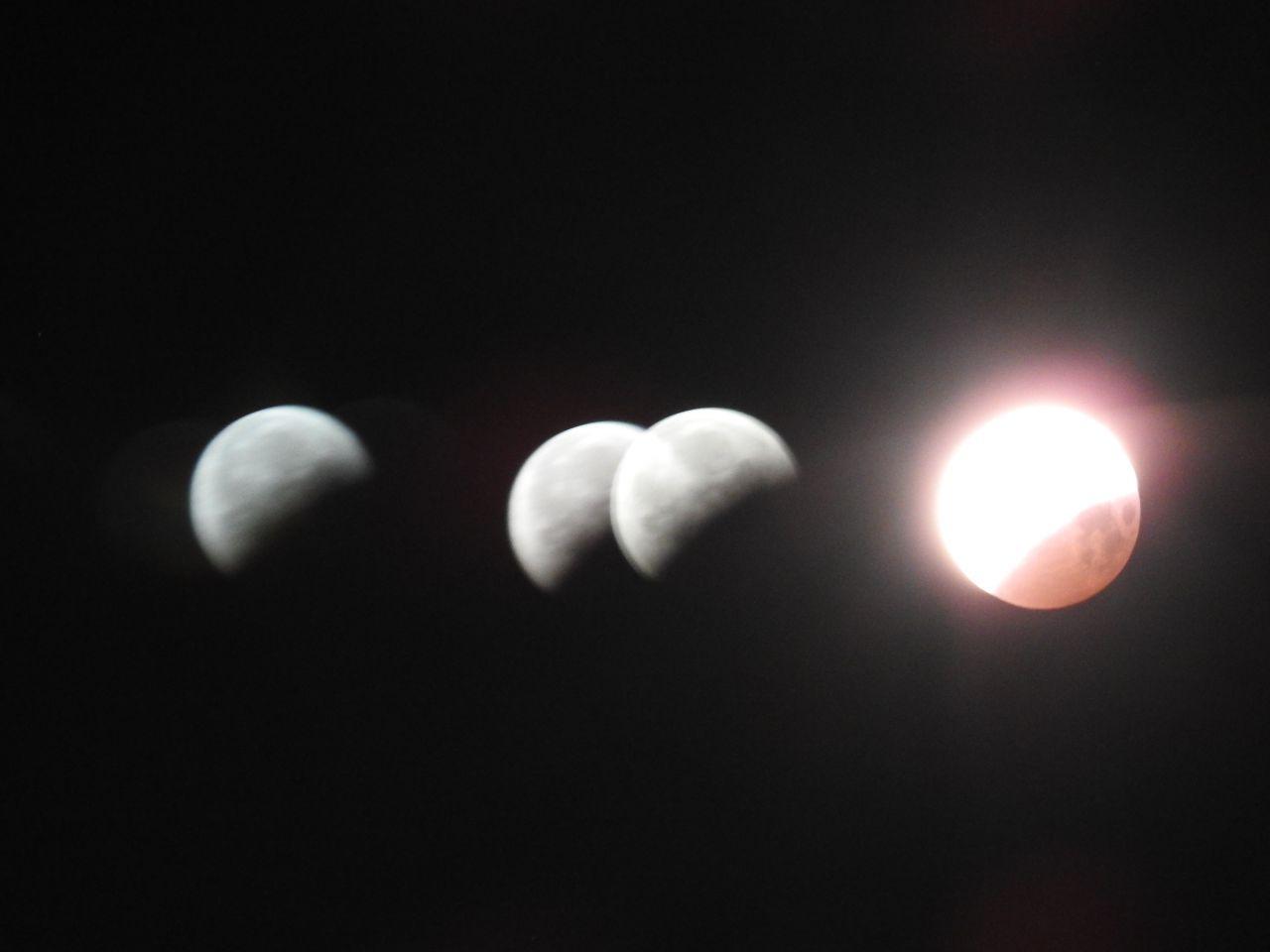 éclipse de lune et triple vitrage