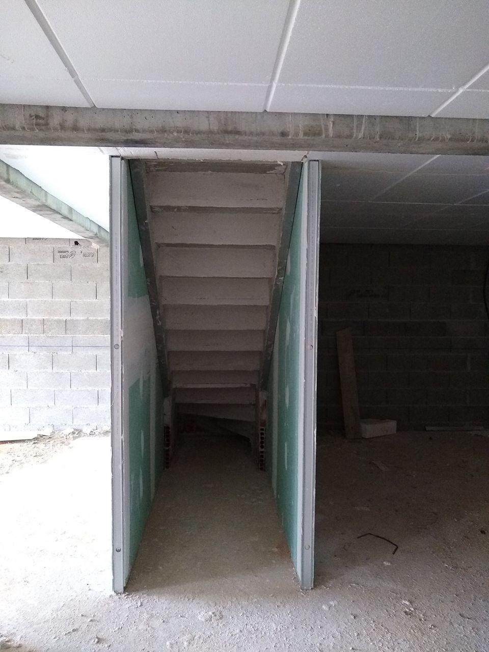 Escalier du sous sol