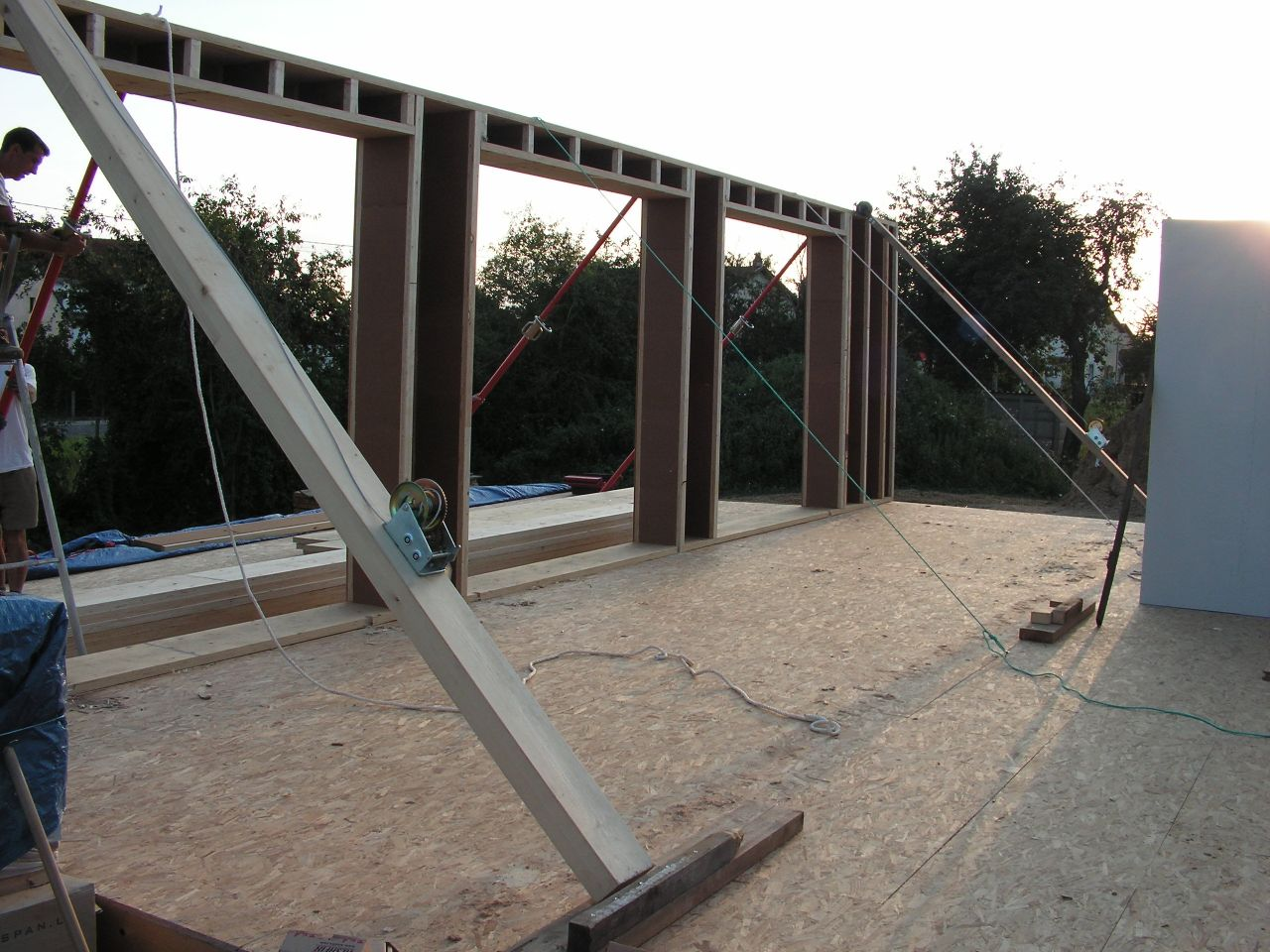 lève mur fabrication maison