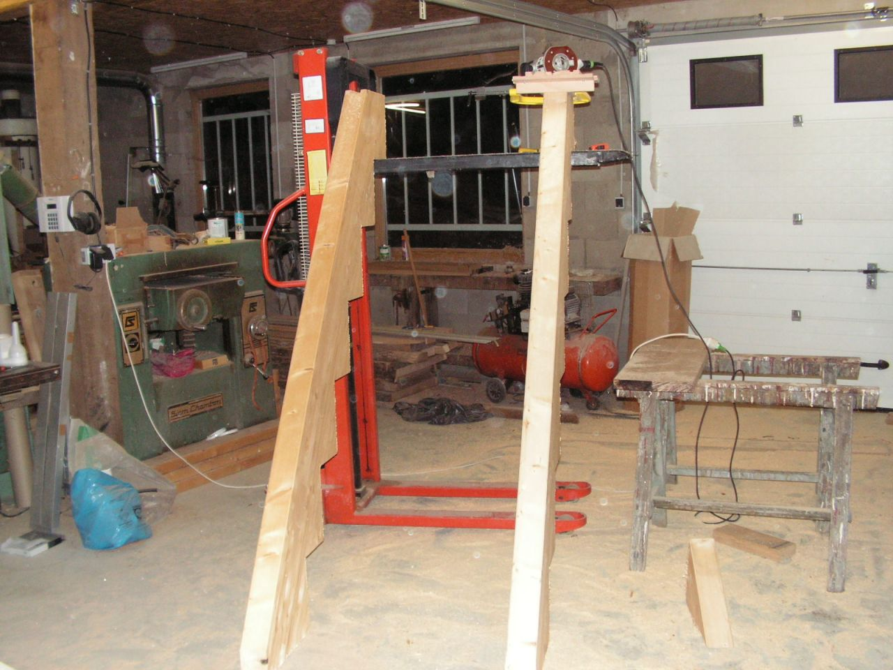fabrication escalier