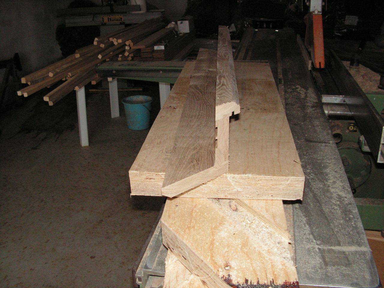 fabrication porte épaisseur 120mm