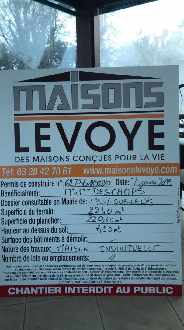 panneau affichage permis
