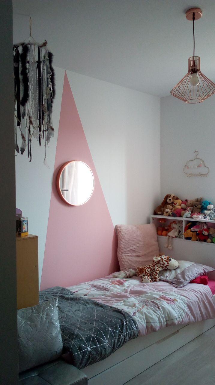 Décoration de la chambre de notre fille terminée