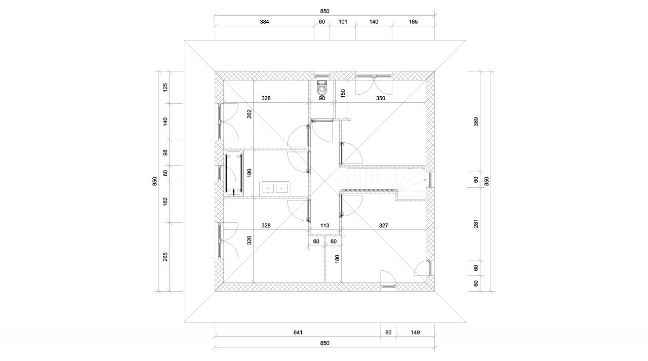Plan étage / espace nuit