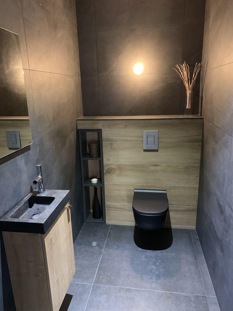 Toilettes rdc, quasi finies