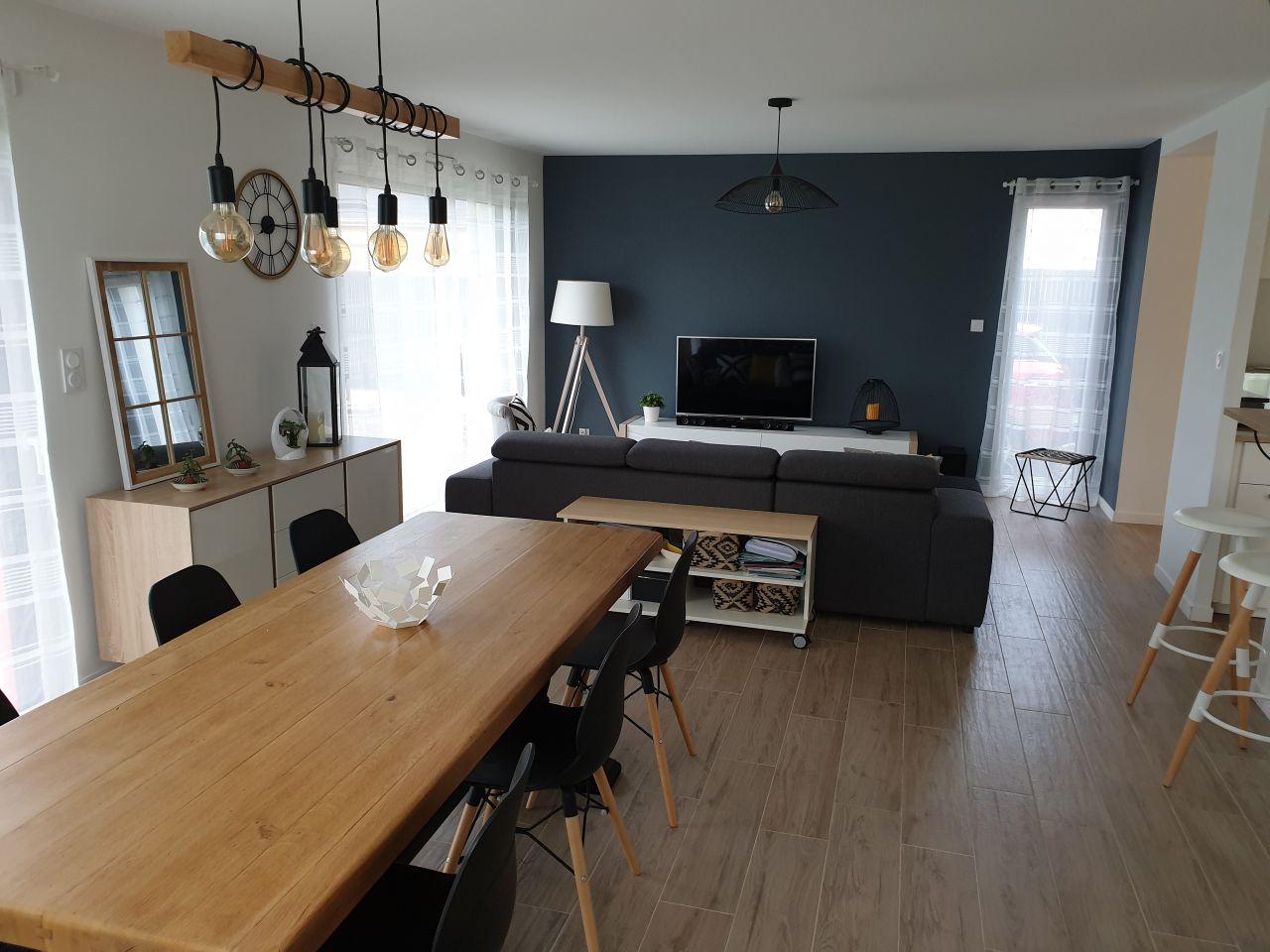 Vue d'ensemble, salle à manger/salon , version 2.0