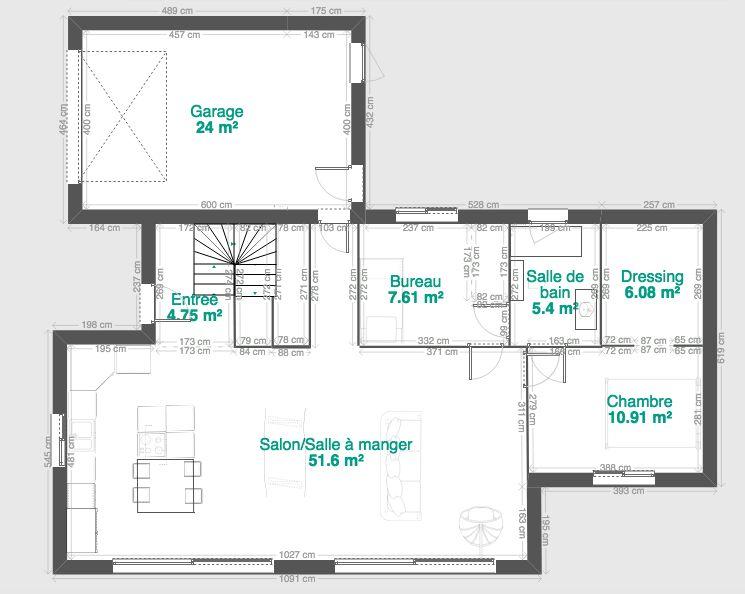 Plan Maison De 90m2 Avec Etage Partiel 13 Messages