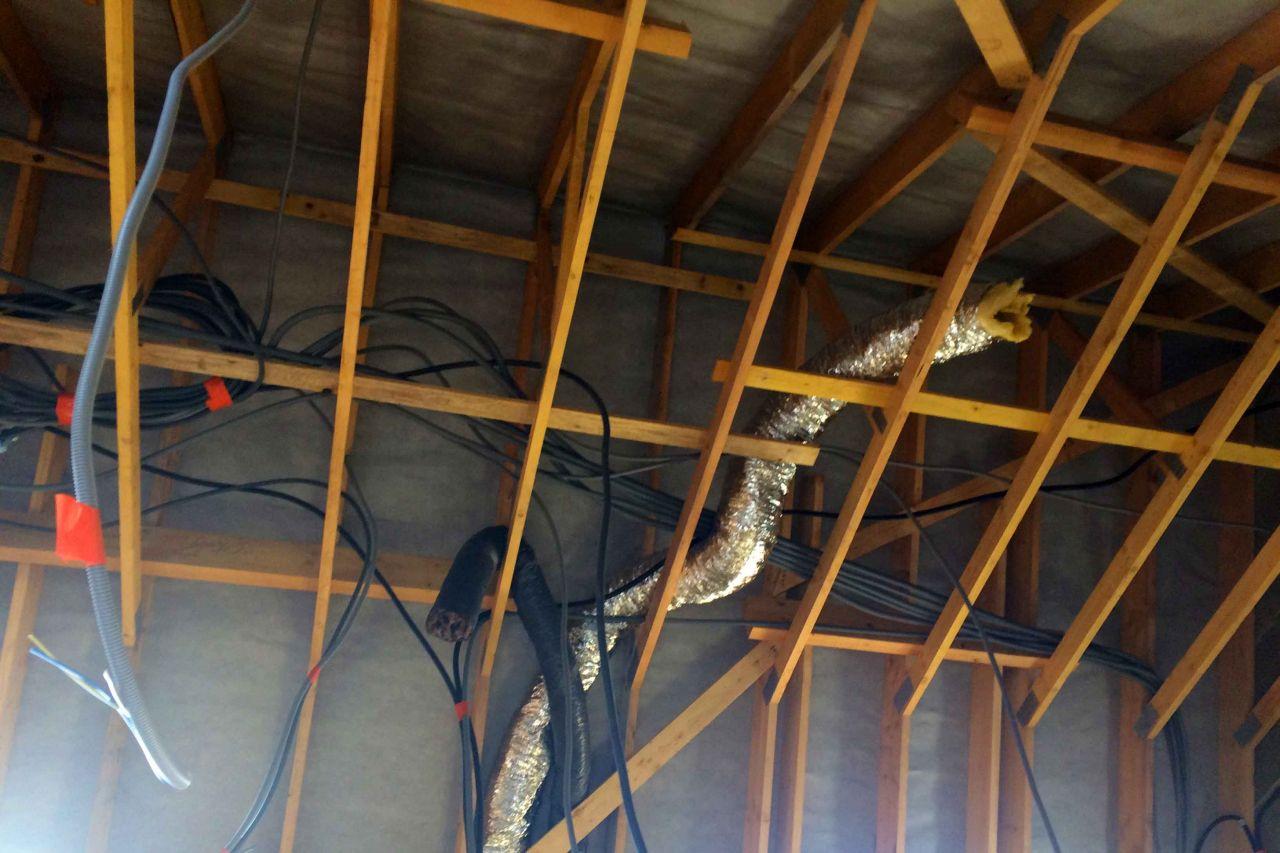 Installation électrique étage au 26-03-19