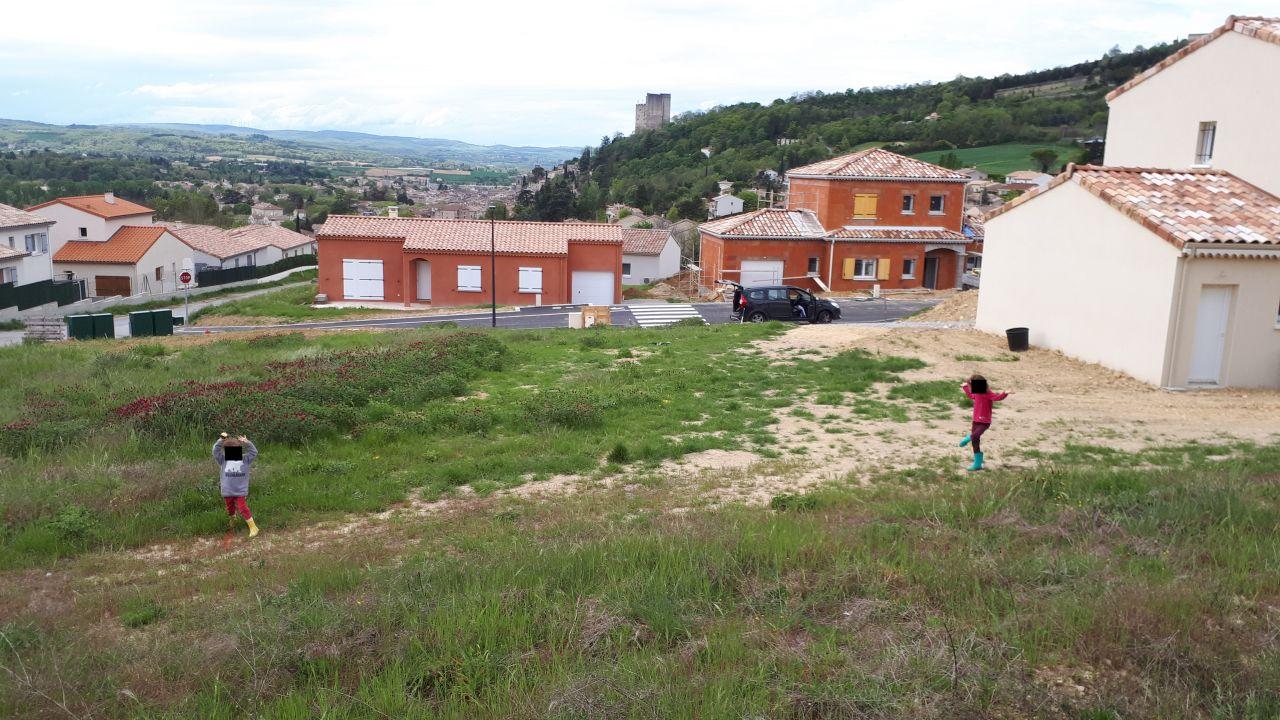 Vue générale terrain avant terrassement
