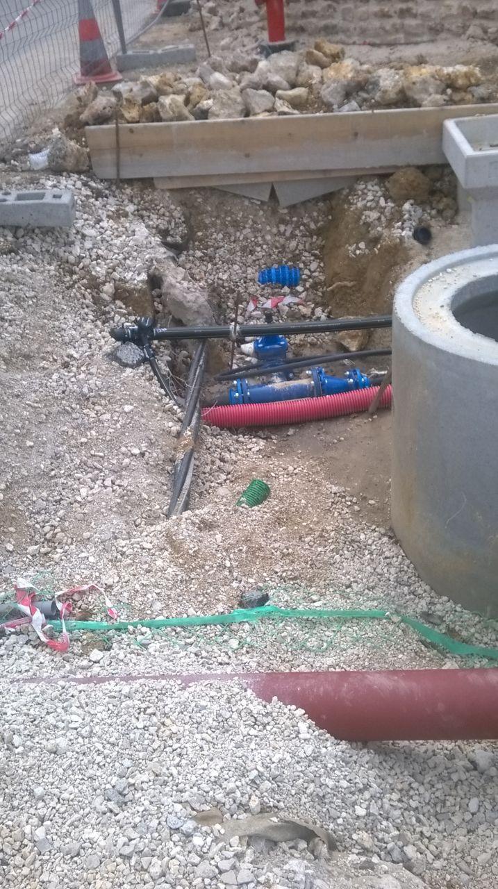 Cable électrique découvert, lors du 1er passage d'Enedis?