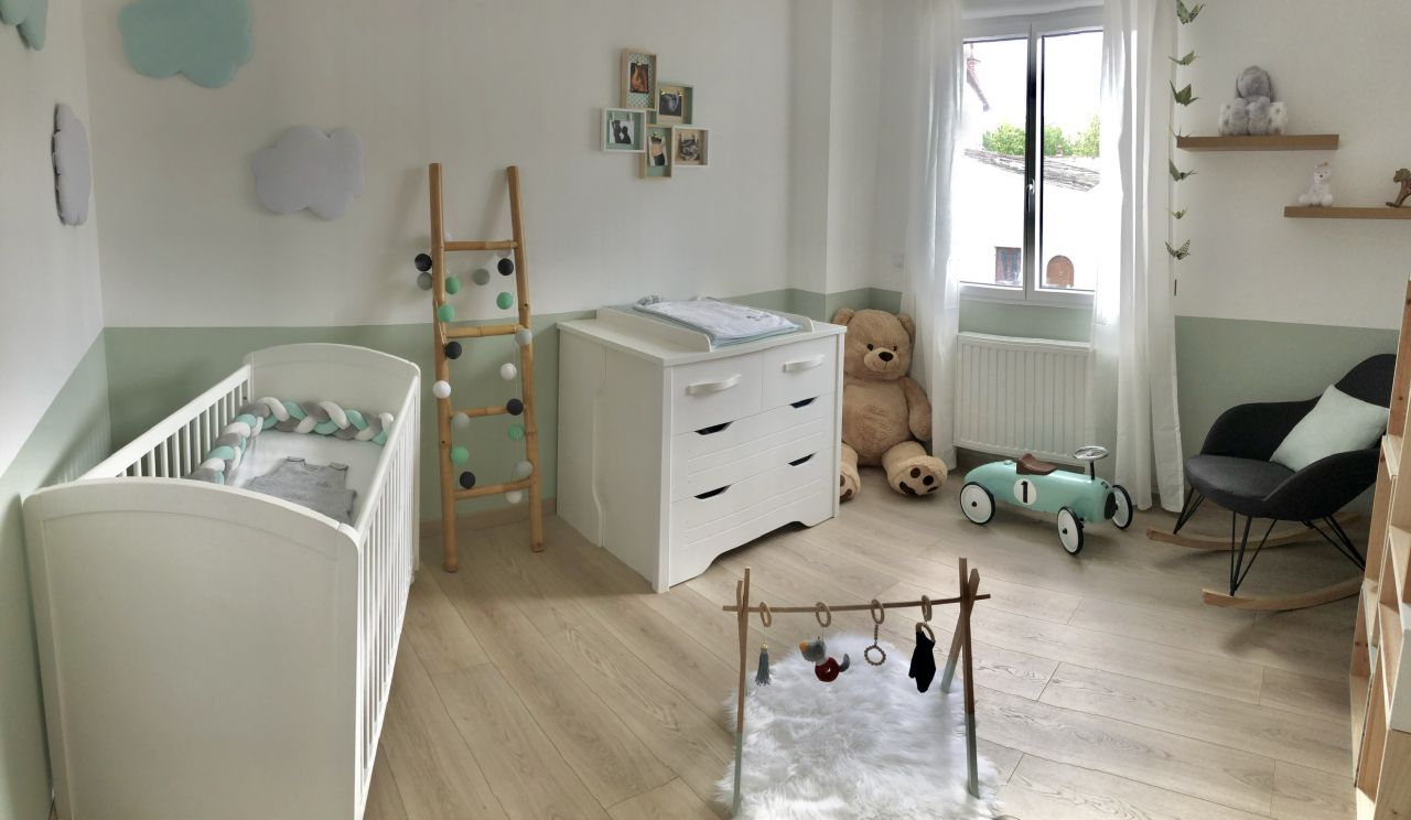 Chambre bébé terminée