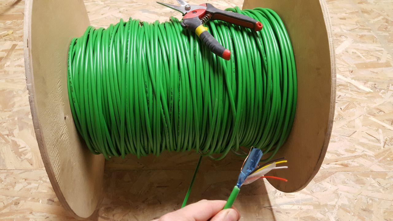 Touret de câble EIB
