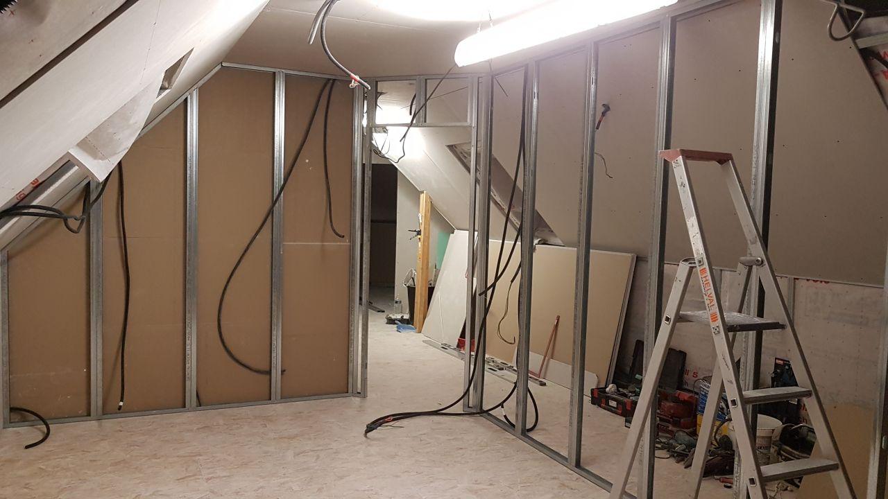 ferraillage mur chambre N2 + couloir