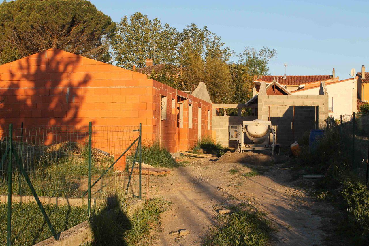 Pignons et garage