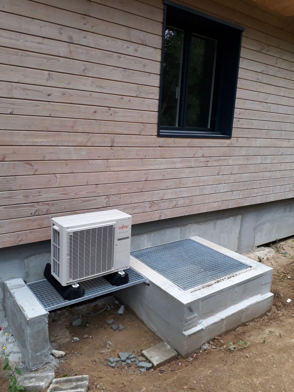 Unité extérieure du chauffe eau thermodynamique