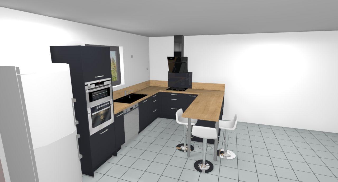 légère modification cuisine