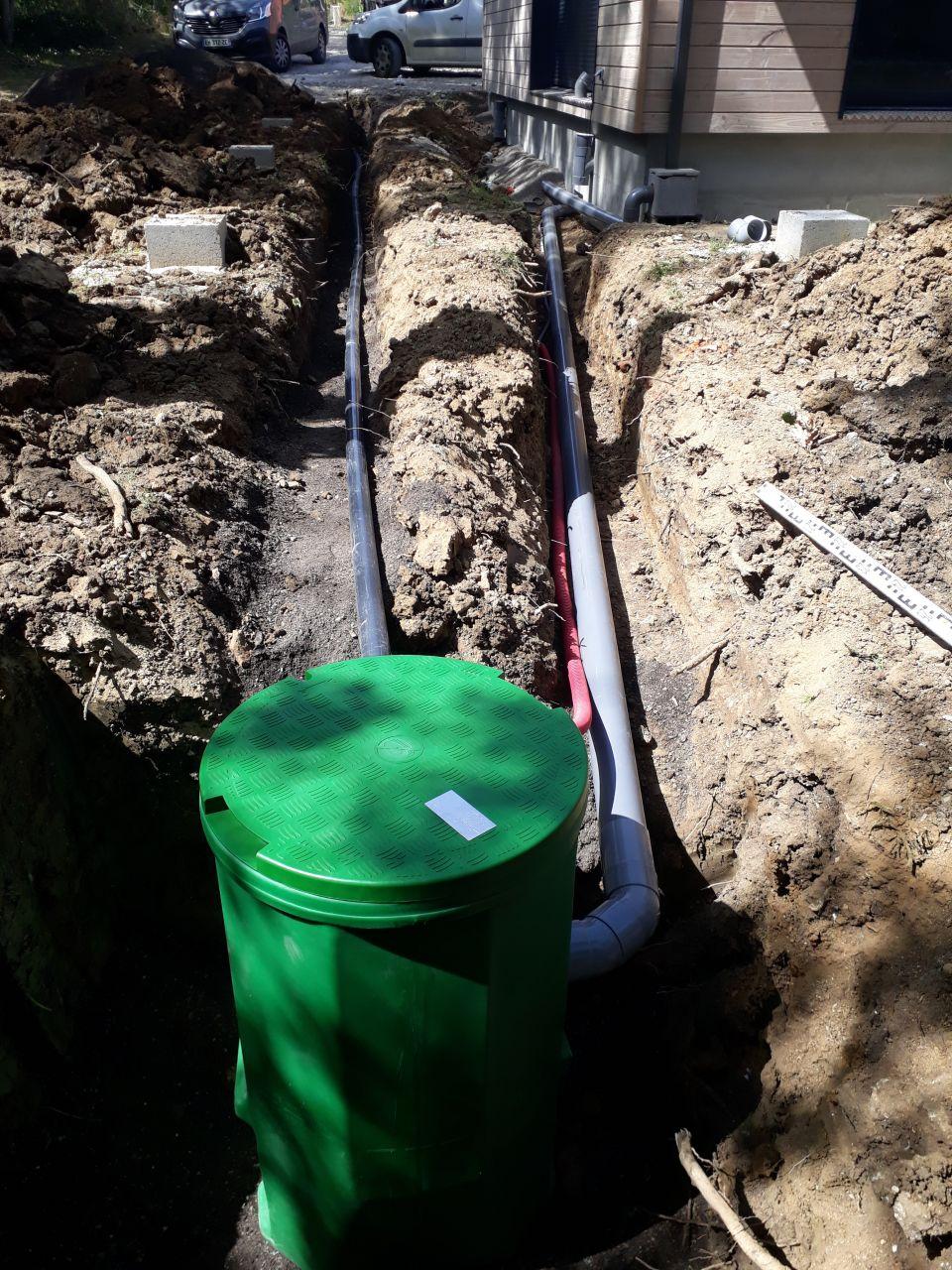 Pompe de relevage enterrée