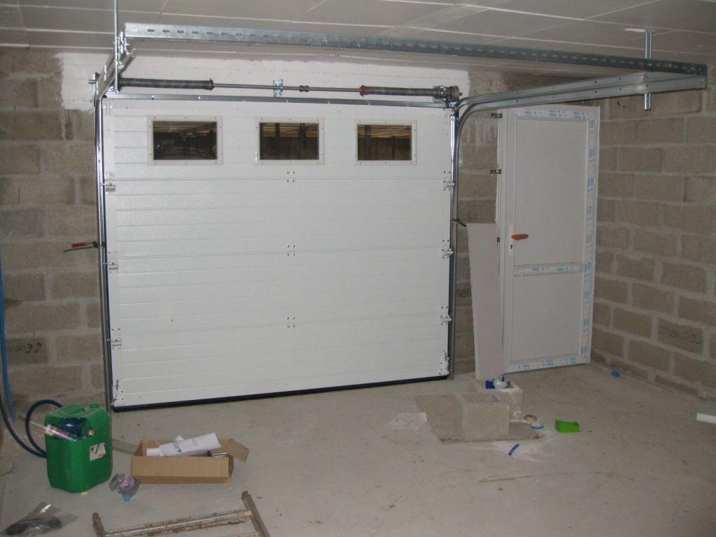 Le placo est termin debut du plancher chauffant suite for Porte exterieure de service