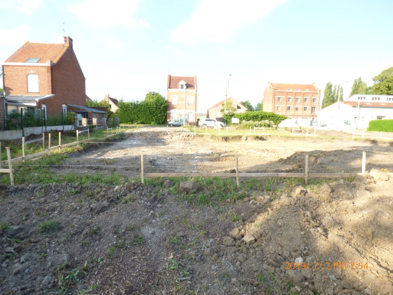 terrassement fondation