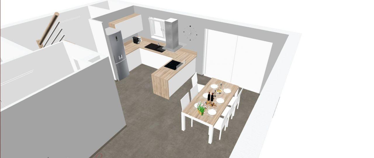 Idée de déco cuisine / salle à manger.