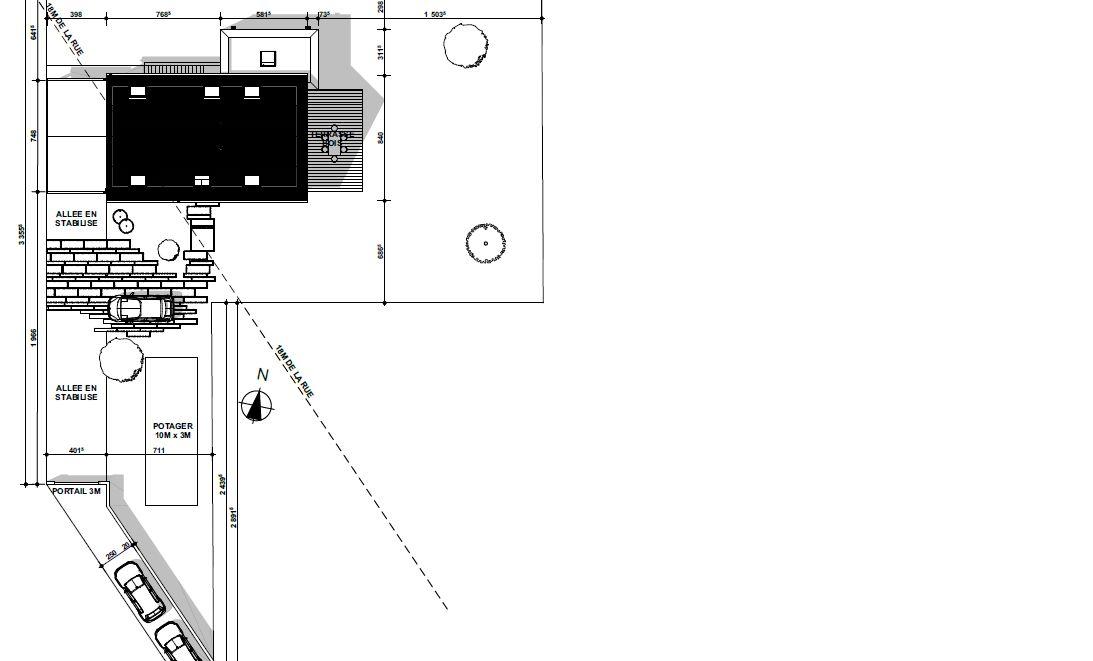 PM maison décalée de 4m