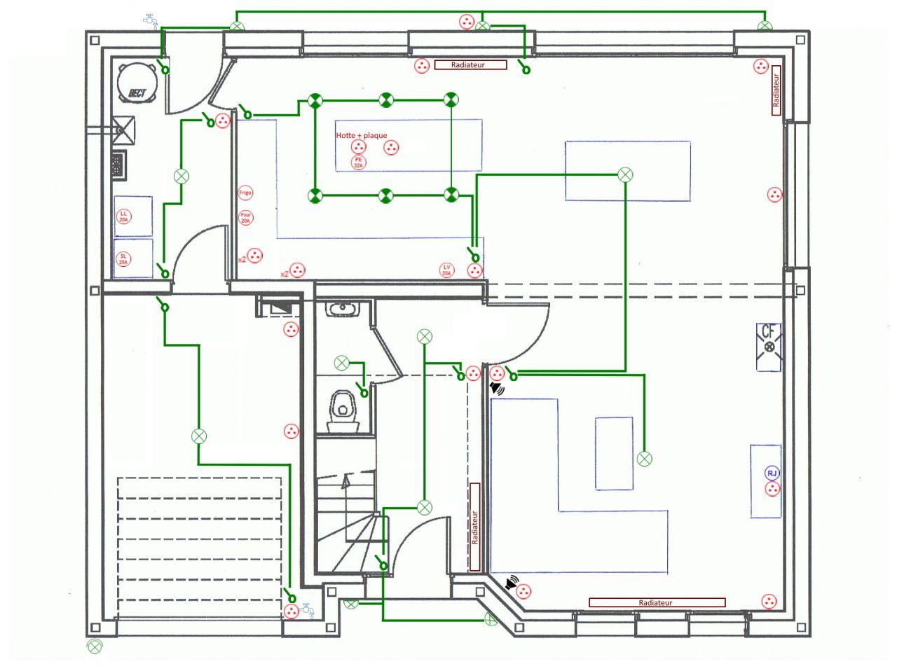 Essai plan électricité rdc