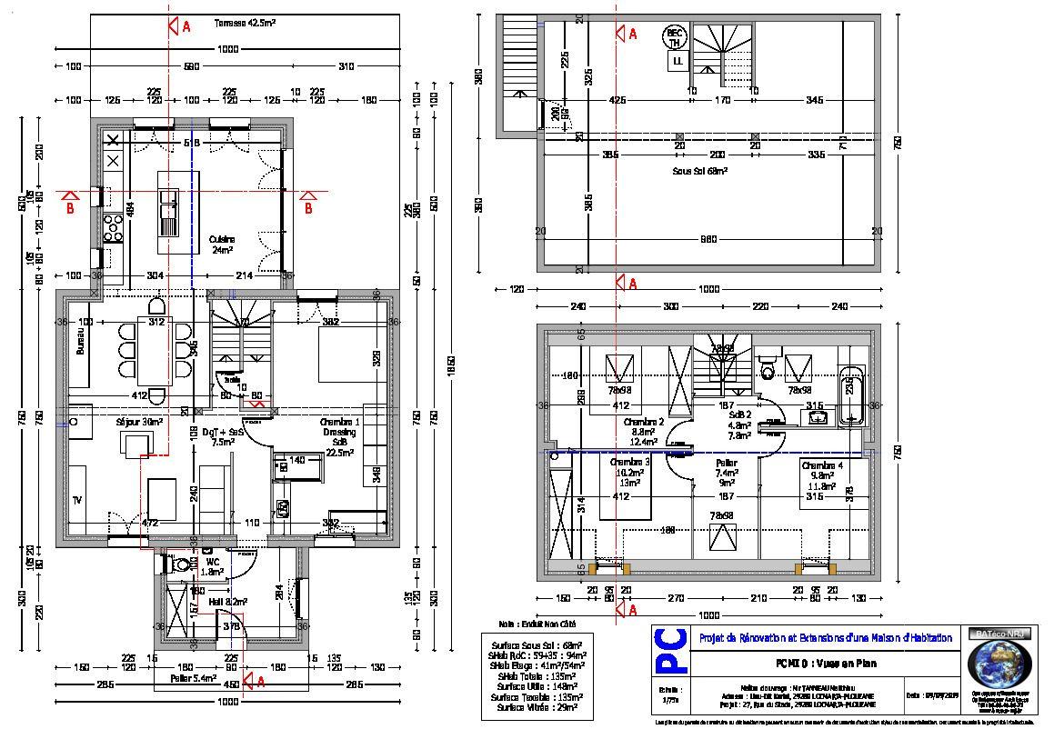 Dossier PC - Vue en plan