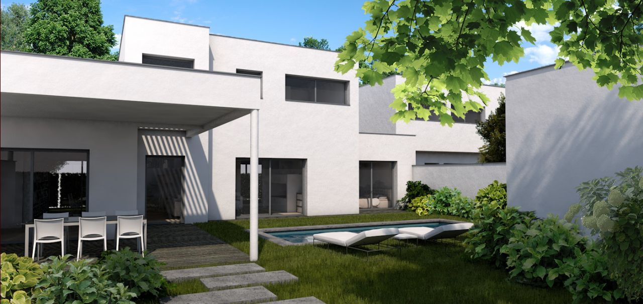notre maison (image architecte)