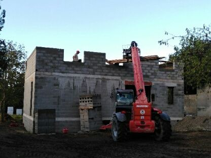 Elevation murs étage